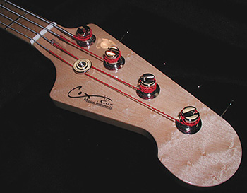 CGR Bass Headstock